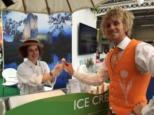 Ice cream from Meet in Ireland at The Meetings Show UK 2016